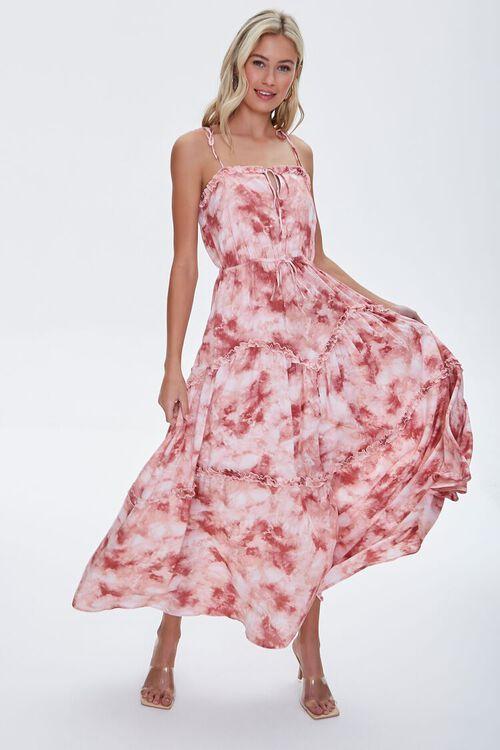 Tie-Dye Wash Maxi Dress, image 1