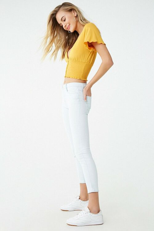 Low-Rise Skinny Ankle Jeans, image 3