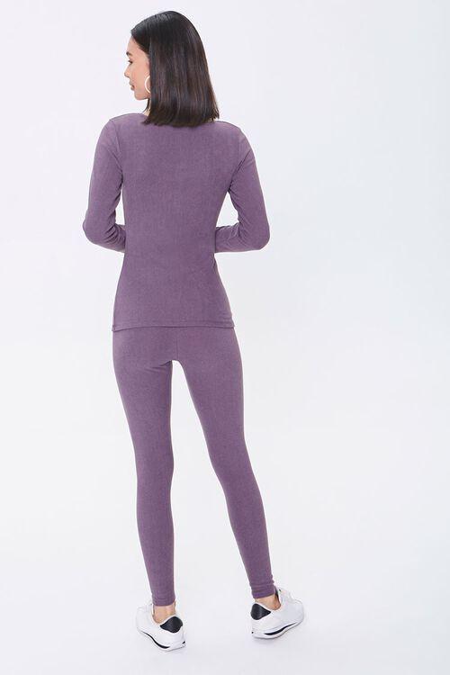 Pajama Top & Leggings Set, image 3