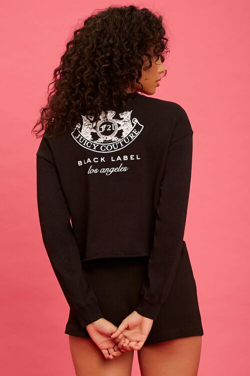 BLACK/WHITE Juicy Couture Graphic Top, image 3
