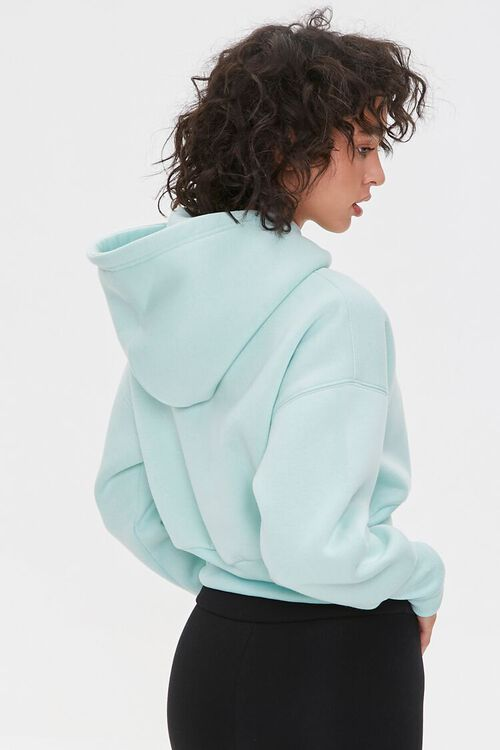 Fleece Drop-Sleeve Hoodie, image 3