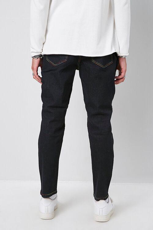 Rainbow Thread Skinny Moto Jeans, image 3