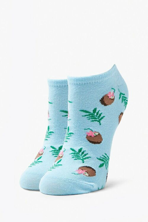 Coconut Ankle Socks, image 1