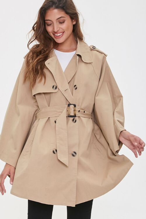 Double-Breasted Trench Jacket, image 1