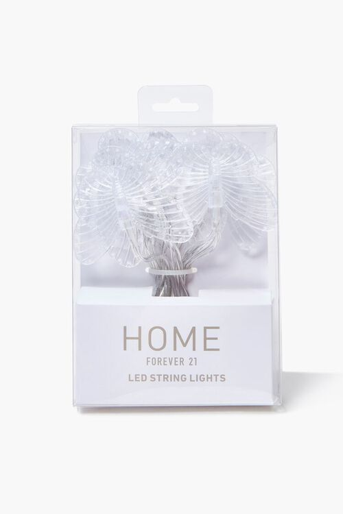 CLEAR Butterfly Twinkle String Lights, image 2