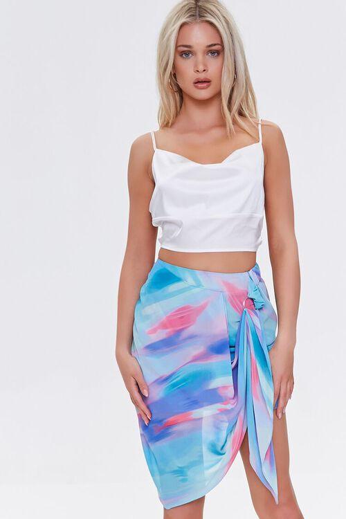 Abstract Print Mini Skirt, image 1