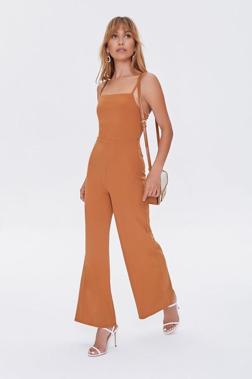 Wide-Leg Cami Jumpsuit, image 1