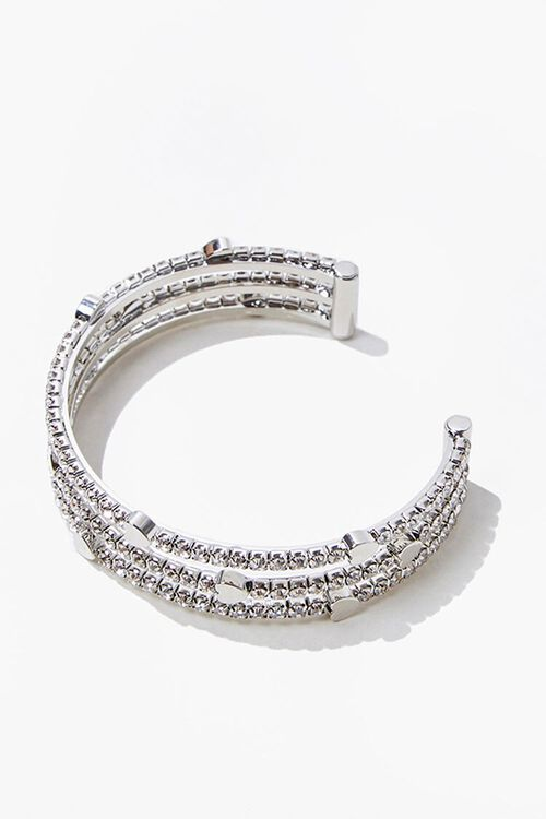 Heart Charm Bracelet Cuff, image 2