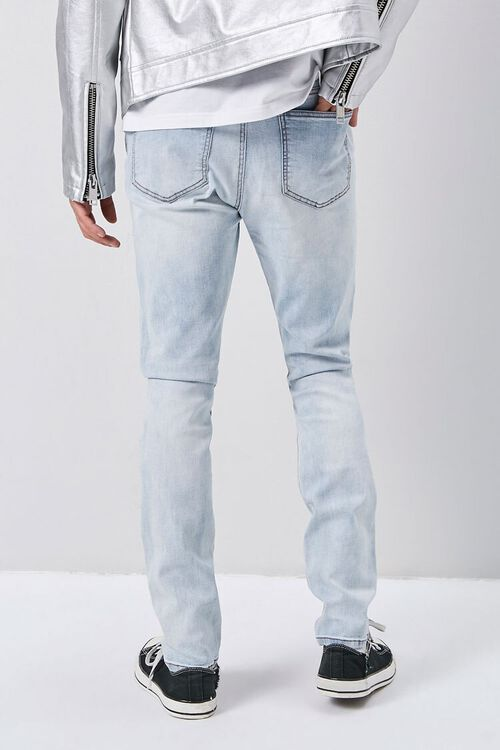 Rhinestone Distressed Skinny Jeans, image 3