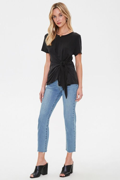 Knotted Self-Tie Tee, image 4