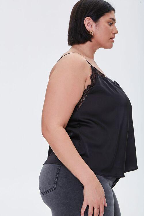 Plus Size Eyelash Lace-Trim Cami, image 2