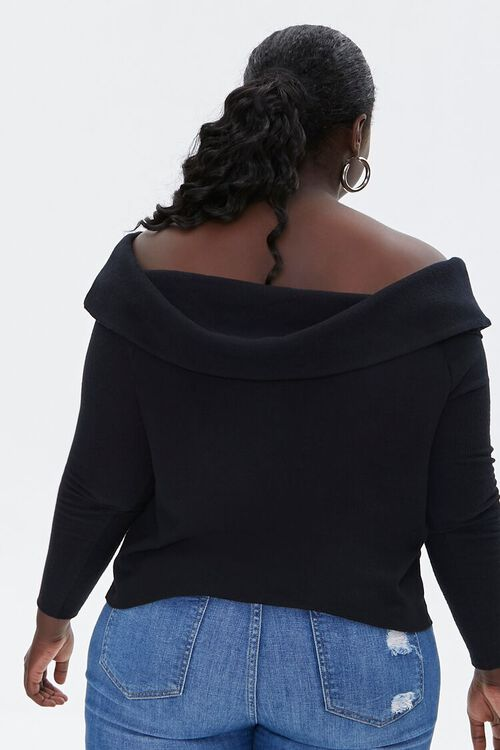 Plus Size Off-the-Shoulder Top, image 3