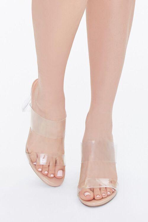 Transparent Lucite Block Heels, image 4