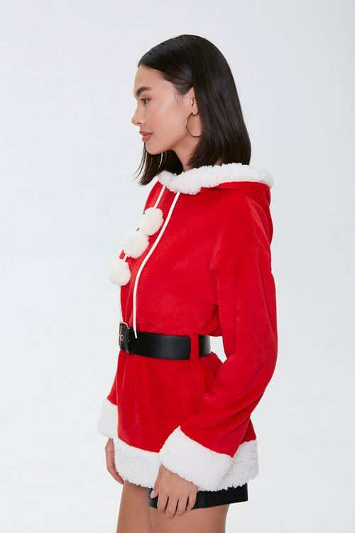 RED/MULTI Santa Costume Hoodie, image 2