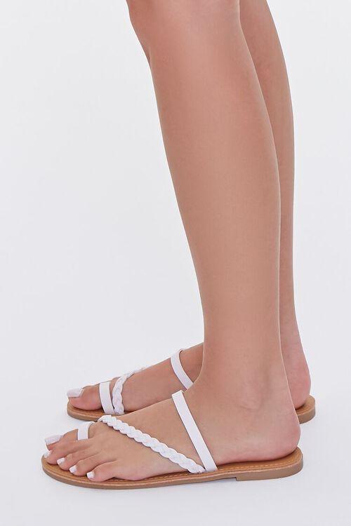Braided Toe Loop Sandals, image 2