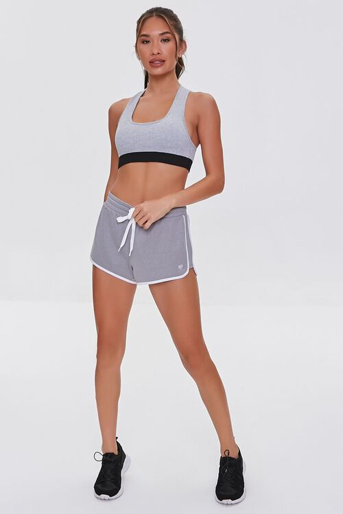 Active Contrast-Trim Dolphin Shorts, image 5