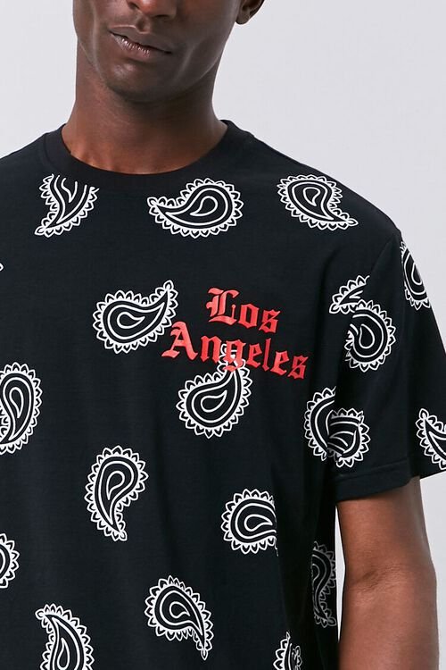 Los Angeles Paisley Graphic Tee, image 5