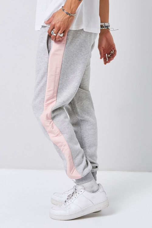 Heathered Colorblock Joggers, image 3