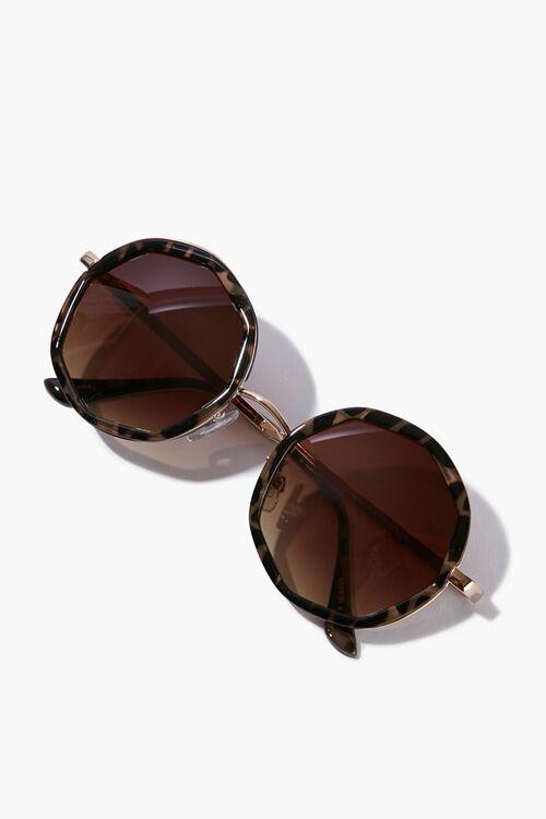 Round Tortoiseshell Sunglasses, image 3