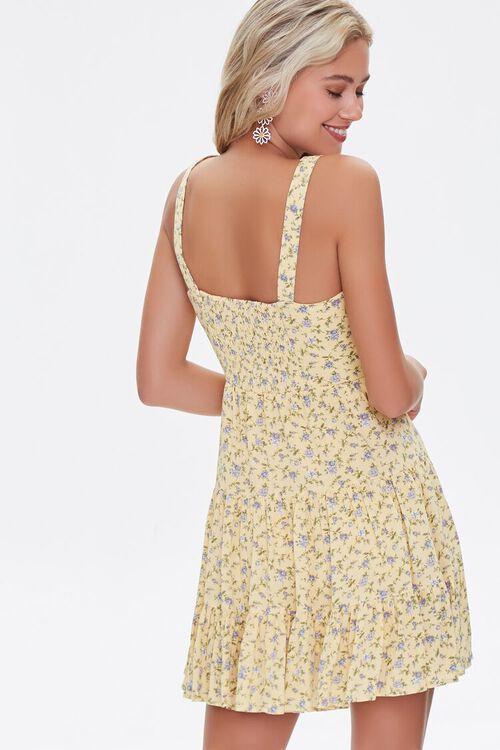 Floral Fit & Flare Mini Dress, image 3