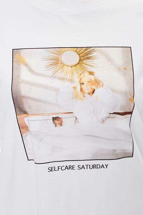 Plus Size Barbie™ Self Care Saturday Tee, image 3
