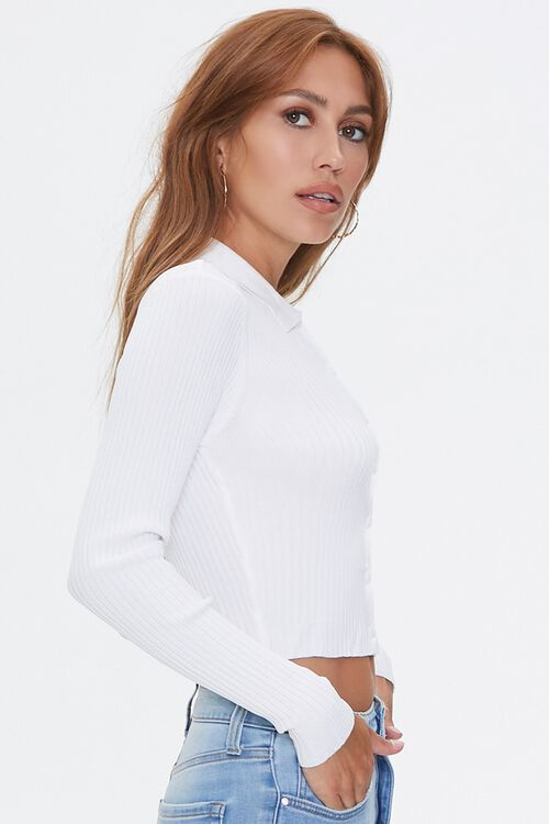 Ribbed Sweater-Knit Shirt, image 2