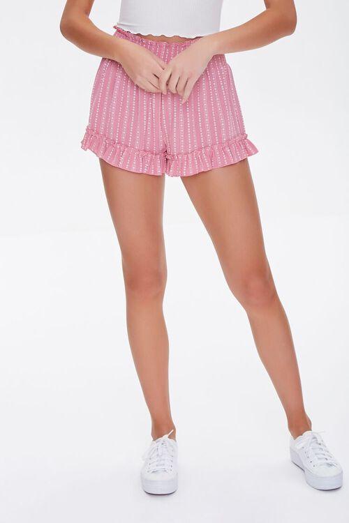 Ornate Ruffle-Trim Shorts, image 2