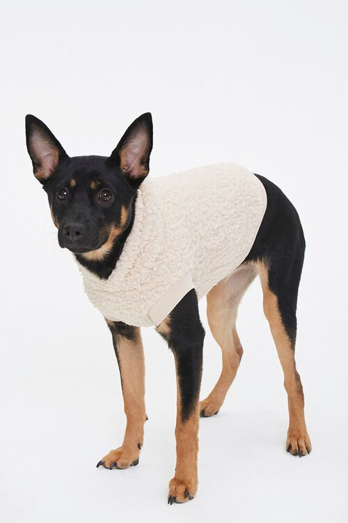 Faux Shearling Dog Sweater, image 2
