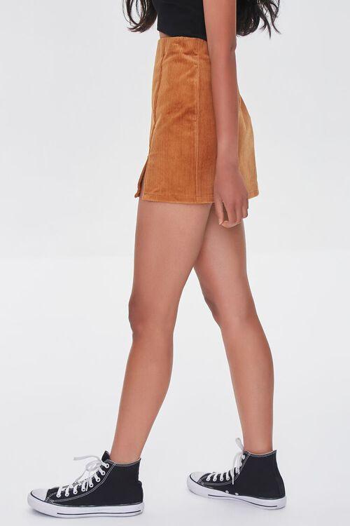 CAMEL Corduroy Mini Skirt, image 3