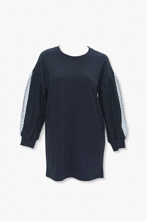 Plus Size Sweatshirt Dress, image 1