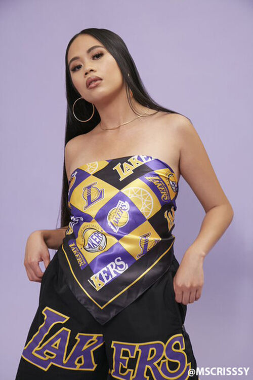 Lakers Graphic Scarf Top, image 1
