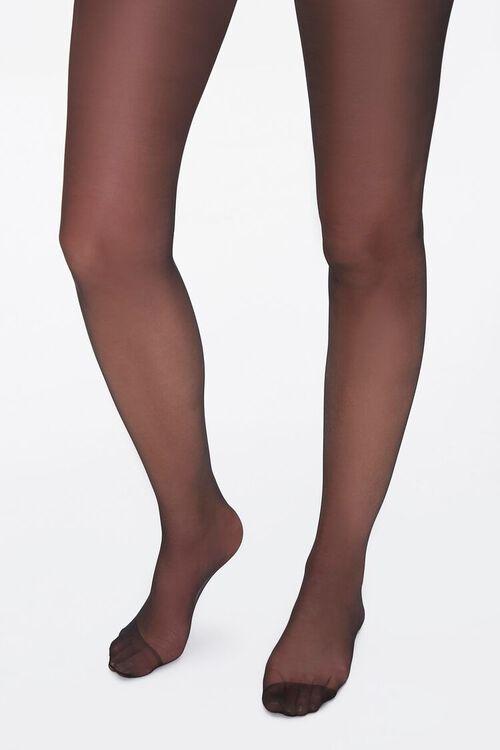 Sheer Nylon-Blend Tights, image 1