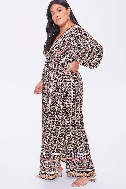 Plus Size Ornate Maxi Dress, image 2