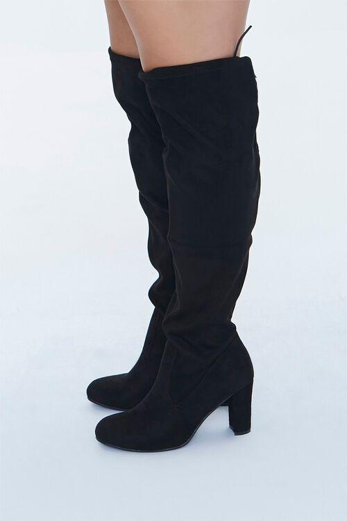 Over-the-Knee Block Heel Boots (Wide), image 2