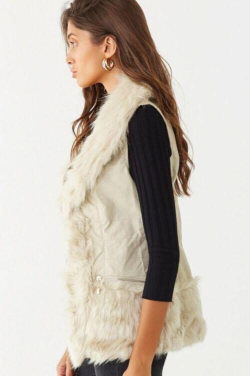 Faux Fur Vest, image 2
