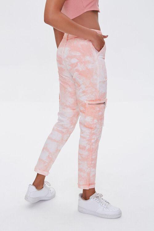 Tie-Dye Utility Ankle Pants, image 3