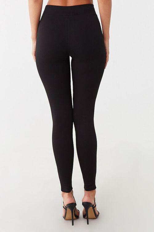 Sheer Mesh-Panel Leggings, image 3