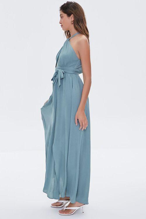 Keyhole Halter Maxi Dress, image 2