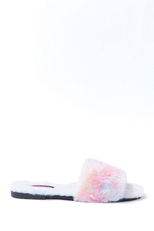 Cloud Wash Faux Fur Slide Sandals, image 1