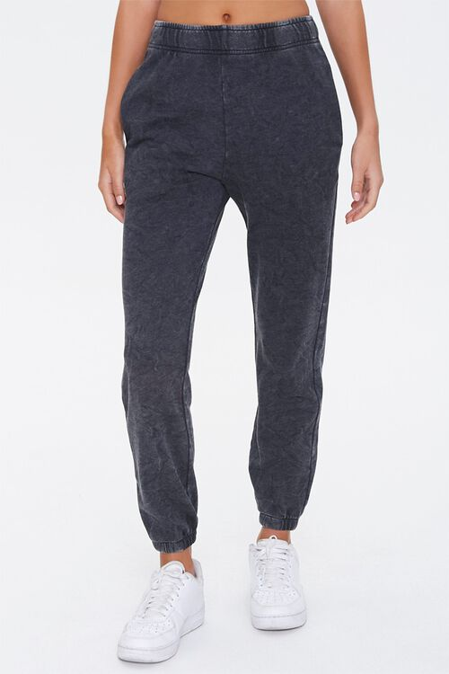 French Terry Mineral Wash Joggers, image 2