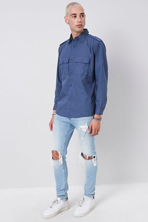 Epaulet Flap Pocket Shirt, image 4