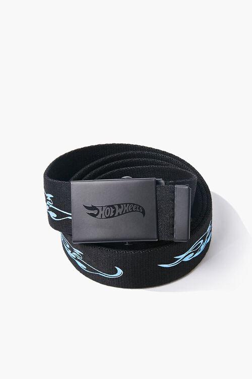 BLACK/BLUE Hot Wheels Flip-Buckle Belt, image 2