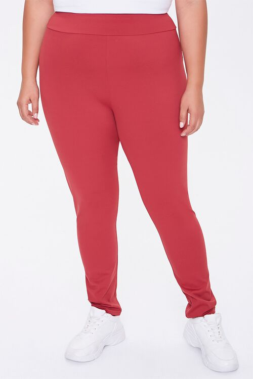 Plus Size Active High-Rise Leggings, image 2