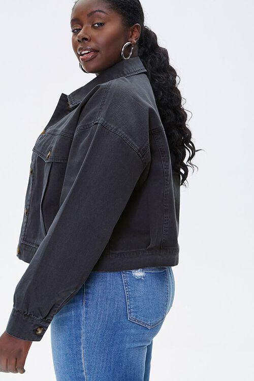Plus Size Twill Jacket, image 2