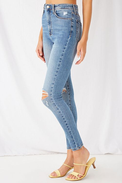 Super Skinny Distressed Jeans, image 3