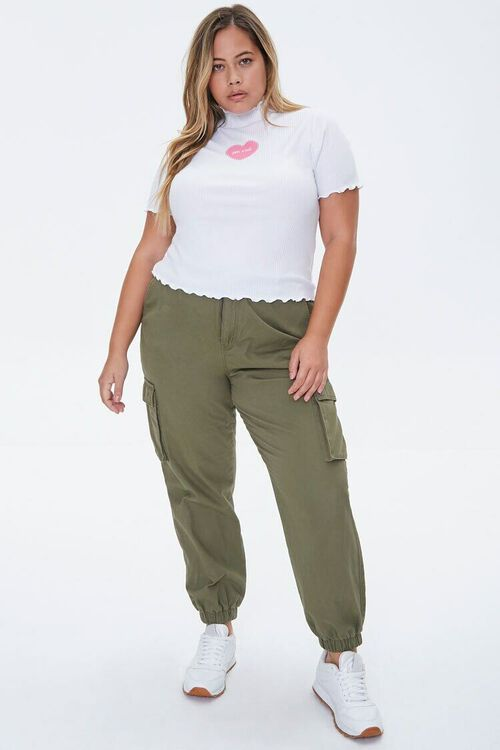 Plus Size You Wish Graphic Tee, image 4