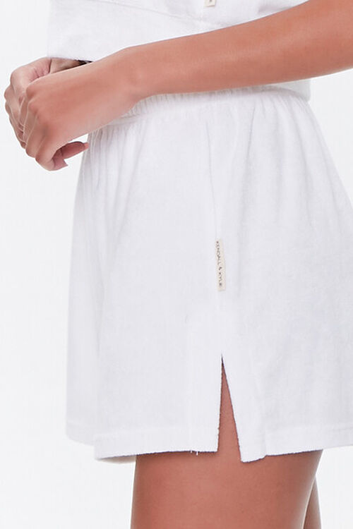 Kendall & Kylie Terrycloth Elastic Shorts, image 6