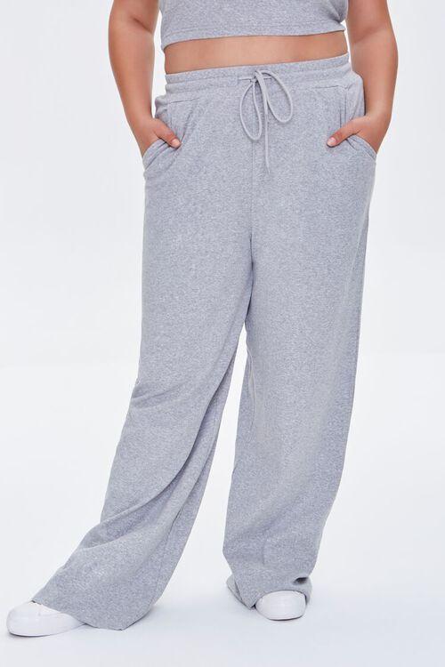 Heathered Drawstring Pants, image 2