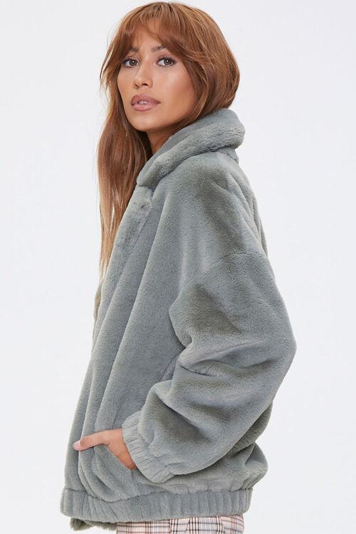 Plush Drop-Sleeve Jacket, image 2