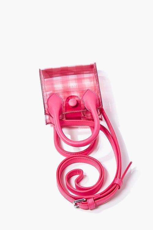 Transparent Plaid Crossbody Bag, image 5